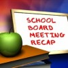 School rezoning and consolidation meeting